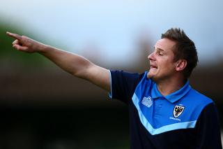 Wimbledon boss Neal Ardley is looking to overcome Sunday's FA Cup hurdle